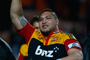 The New Zealand Rugby Union will hold a misconduct hearing for Magpie and Super Rugby-winning Chiefs prop Ben Tameifuna over his latest driving misdemeanours. Photo / Getty Images.