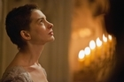 Anne Hathaway plays the destitute prostitute Fantine in the film adaptation of Les Miserables. Photo/AP