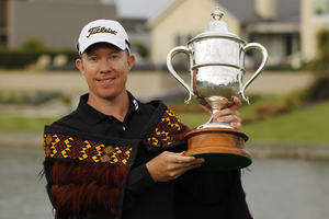 2011 New Zealand Open champion Brad Kennedy. Photo /Getty Images