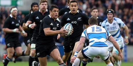 Dan Carter produced another man of the match performance. Photo / Getty Images