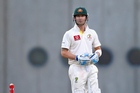 Michael Clarke begins day four on 34. Photo / Getty Images