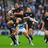 Israel Dagg goes up for a high ball during. Photo / Getty Images