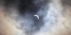 Watch: Raw: Solar eclipse seen in NZ