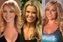 Playboy bunnies, Tiffany Toth, Jessa Hinton and Heather Knox. Photo / Supplied