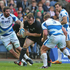 Andrew Hore charges upfield for a try. Photo / Getty Images
