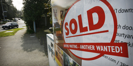 Finance Minister Bill English says average house prices have risen nationally by 1.3 per cent in the past four years, while household incomes have increased by one third. Photo / NZ Herald