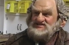 Mark Hadlow who plays 'Dori' the dwarf in the upcoming 'The Hobbit: An Unexpected Journey' movie series, had a quick chat in costume at the Weta Workshop studios before he was to meet HRH The Prince of Wales.