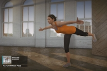 Nike+ Kinect Training rewards participants who consistently match the form and movement of their virtual trainers. Photo / Supplied