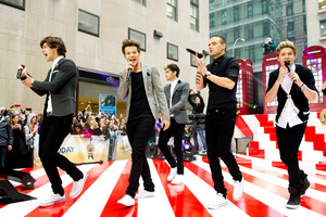One Direction announced they are making a 3D film during a recent New York concert. Photo/AP