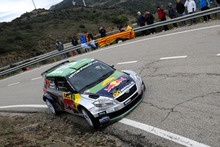 Hayden Paddon and co-driver John Kennard finished 20th overall Photo / HPRG