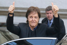 Yoko Ono has thanked Sir Paul McCartney for clearing her of breaking up The Beatles. Photo/AP