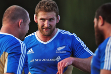 Kieran Read will captain the All Blacks for the first time on Sunday. Photo / Getty Images