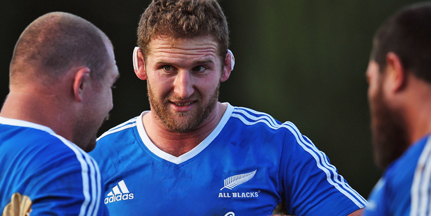 Loading Kieran Read will captain the All Blacks for the first time on Sunday. Photo / Getty Images