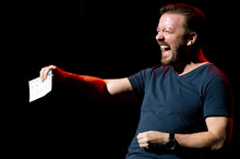 Ricky Gervais says Netflix is the future of television. Photo/AP