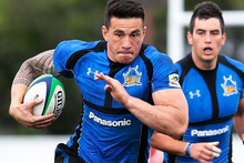 Sonny Bill Williams is set to sign with the Roosters tomorrow. Photo / Getty Images 
