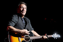 Bruce Springsteen fans will create their own documentary about the rock legend. Photo/AP
