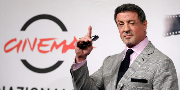 Sylvester Stallone says Rambo will be back for one last battle. Photo/AFP