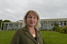 Purakaunui School secretary Jacque Ruston has not been paid since she started work at the school in August. Photo / Stephen Jaquiery