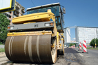 The man died at the scene after crashing into a road roller. Photo / Thinkstock