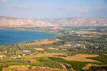 The view across the Sea of Galilee. Photo / Thinkstock