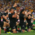 Piri Weepu leads the Haka, October, 2012. Photo / Getty Images