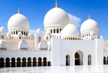 Abu Dhabi's Sheikh Zayed Grand Mosque is a sight to behold. Photo / Thinkstock