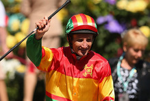Damien Oliver will ride at the next spring carnival. Photo / Getty Images