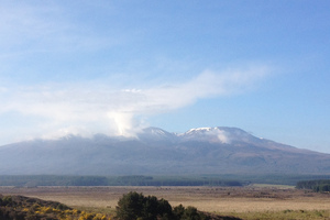 Mount Tongariro. Photo / Christine Cornege
