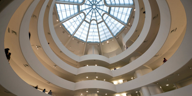 Frank Lloyd Wright's Guggenheim Museum is an artwork in itself. Photo / Supplied