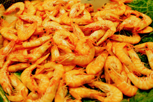 A man confessed to stealing more than 300 shrimp to feed a pet fish. Photo / Thinkstock 