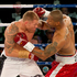 New Zealand heavyweight boxer Shane Cameron and Monte Barrett fight in July. Photo / Greg Bowker