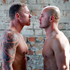 Boxers Shane Cameron (left) and Monty Betham before a 2011 fight. Photo / Doug Sherring
