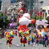 The annual Farmers Santa Parade in downtown Auckland, 2011.  Photo / Natalie Slade