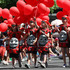 The Auckland Santa Parade, 2010. Photo / Greg Bowker
