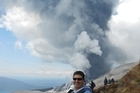 Teacher and aspiring Volcanologist Paul Cowans was on his first study trip to a volcano when Mt Tongariro spewed smoke, gas and ash 4km into the sky. He filmed the resulting excitement and panic as tourists all had to leave the mountain.