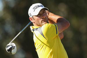 North Harbour professional Michael Hendry has fallen well off the pace at the Australian Masters. Photo / Getty Images.