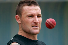 Brendon McCullum hopes the pitch at the Galle International Stadium will take even more turn in the latter stages of New Zealand's test against Sri Lanka. Photo / AP. 