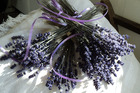Dried lavender makes for a pretty decorative touch in the home. Photo / Dansys Pass Lavender