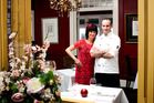 Martina Lutz and new head chef Jono Beattie at Number 5. Photo / Babiche Martens