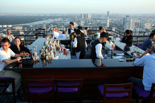 Bangkok's Moon Bar will give you the modern perspective. Photo / Supplied