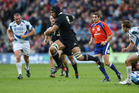 All Black coach Steve Hansen was very impressed with Victor Vito's performance against Scotland. Photo / Getty Images