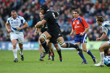 All Black coach Steve Hansen was very impressed with Victor Vito's performa