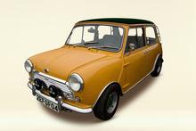 A classic Austin Mini. Photo / Tranz