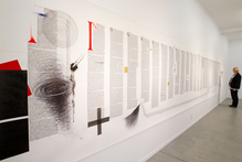 'Genesis' by James Ormsby at Whitespace Gallery. Photo / Richard Robinson