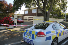 The scene where the injured man was found.  Photo / APNZ