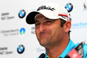 Michael Hendry is among several Kiwi golfers in good form entering the New Zealand open. Photo / photosport.co.nz