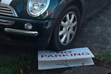 No Parking where? Photo / Supplied