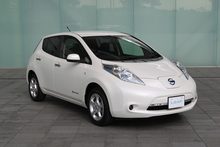 Nissan Leaf electric car. Photo / Supplied