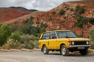 1971 Range Rover classic. Photo / Supplied