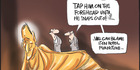 View: Cartoon: Key's golden moment